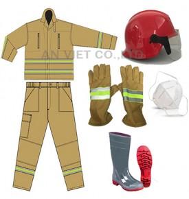 trang phục mặc khi chữa cháy, giúp bảo hộ cho người chữa cháy